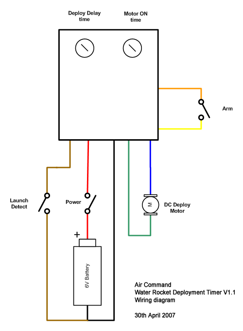wiring diagram for timer, Wiring diagram