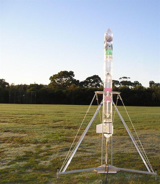 Water Bottle Rocket Parachute: Water Rocket Gallery